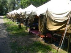 Спортивно-оздоровчий табір «Вулкан» двадцять п'ятий раз відкрився для дітей